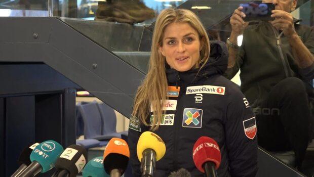 Kaos när Johaug höll presskonferens