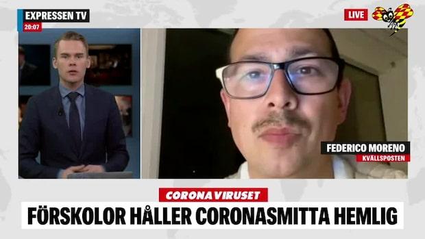 Förskolor håller coronasmitta hos personal hemlig