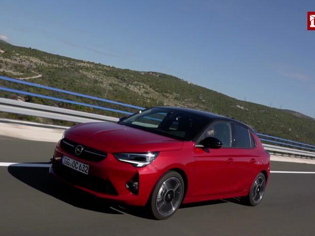 Se provkörningen av Opel Corsa