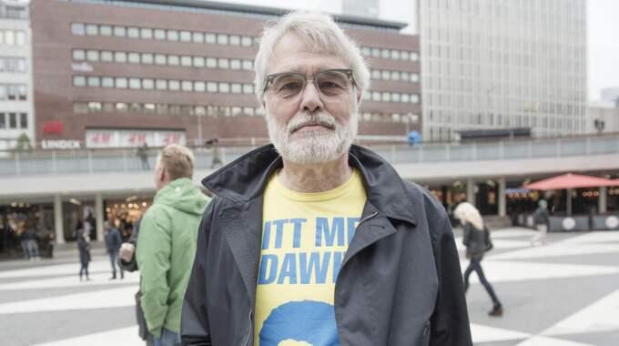 – Det är fantastiskt att han får den här uppmärksamheten, att ett FN-organ tar upp frågan och jag hoppas det kan hjälpa till att få honom fri, säger Leif Öbrink, ordförande i Stödföreningen Free Dawit. Foto: Olle Sporrong