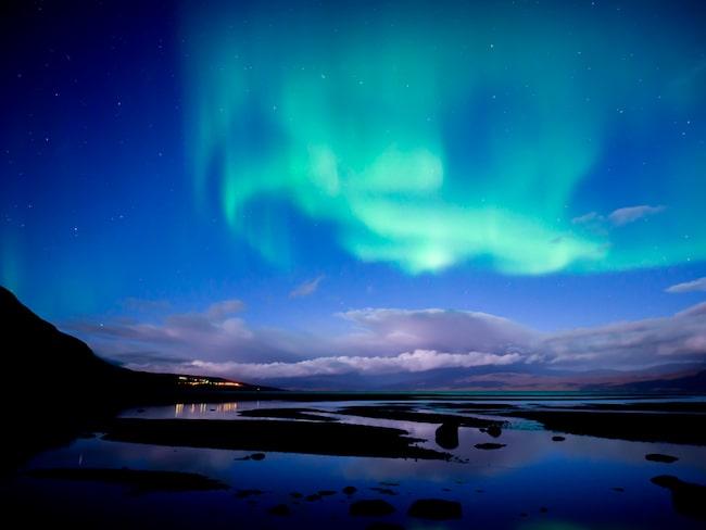 I Abisko kan man se norrsken, något bara hälften av svenskarna har gjort.