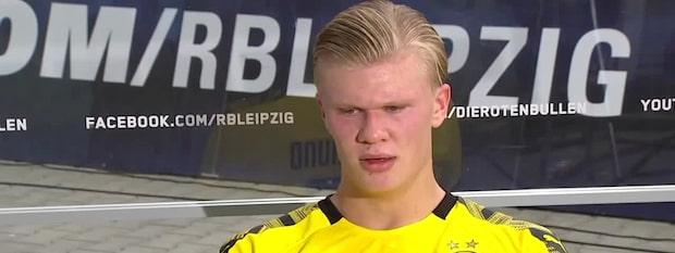 """Haalands ilska: """"Det är skit"""""""