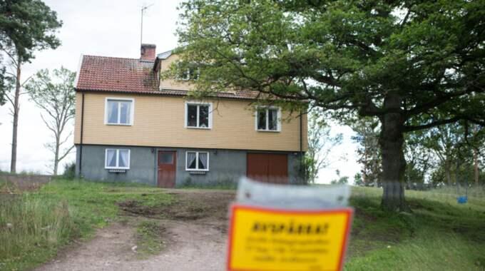 Göran Lundblad tros ha mördats i sitt sovrum tidigt på morgonen den 30 augusti 2012. Blodspår visade att han låg i sin säng när mördaren dödade honom. Foto: Karl Nilsson