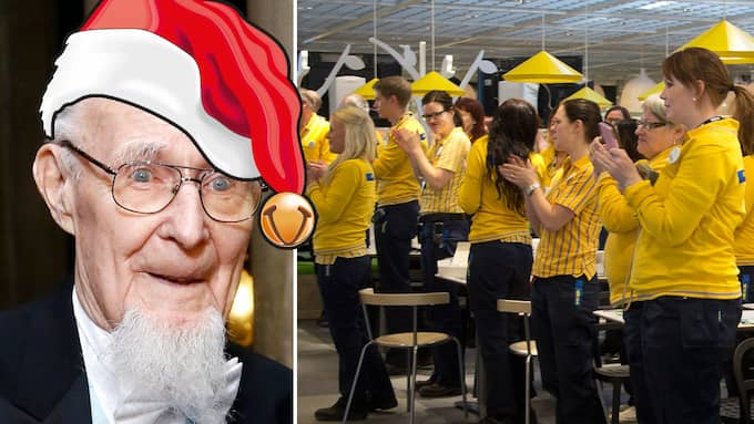 Ingvar Kamprads julklapp: 13 000 till varje anställd.