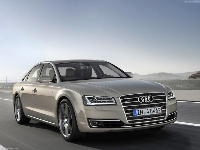 Audi återkallar nästan 5 000 dieselbilar.