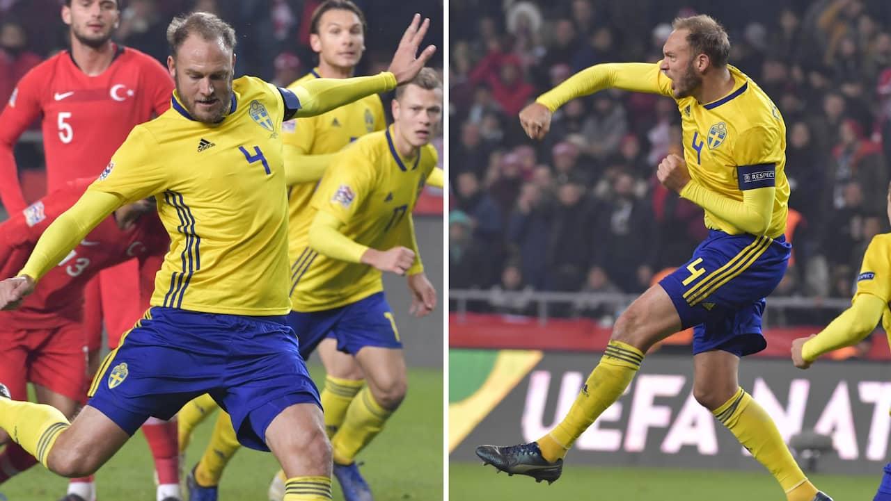Sverige vann mot ryssland efter fantastisk forsta halvlek