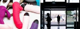 Sexleksak skapade kaos på flygplats – terminal stängde