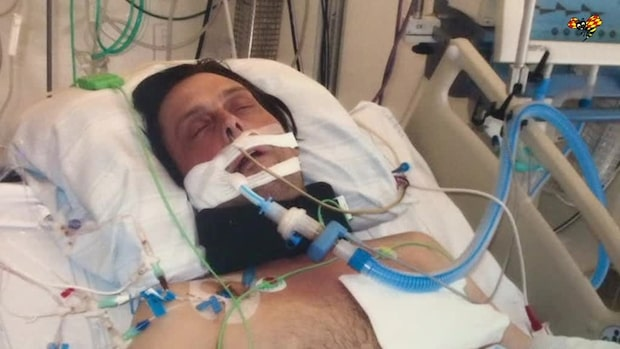 """Lars låg i respirator: """"Som en mardröm"""""""