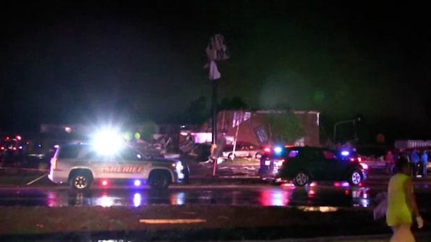 Kraftig tornado i Oklahoma – hotell rasade