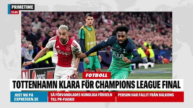Tottenham klart för final i Champion League