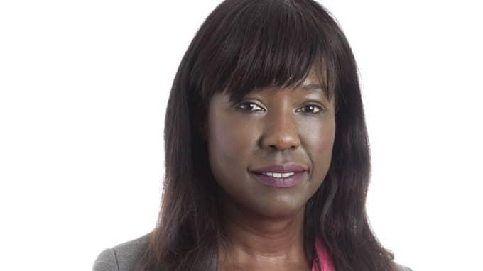 Feministiskt initiativs partiledare Victoria Kawesa anklagas för plagiat. Foto: Pressbild