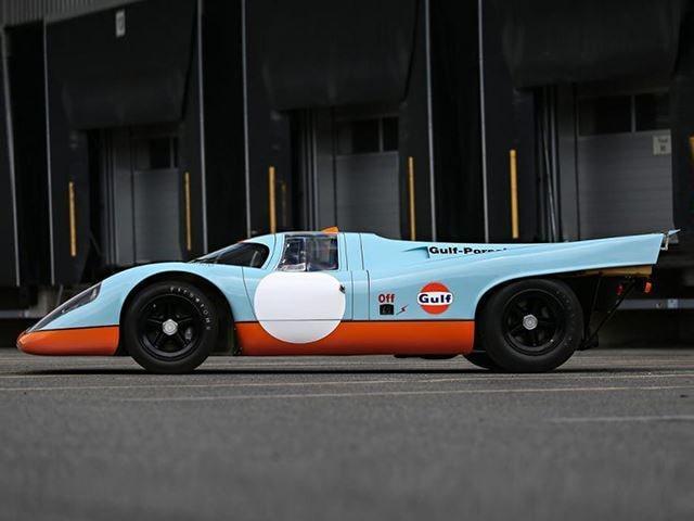 """Bilen var med i filmen """"Le Mans"""" från 1970 om loppet som går under samma namn."""