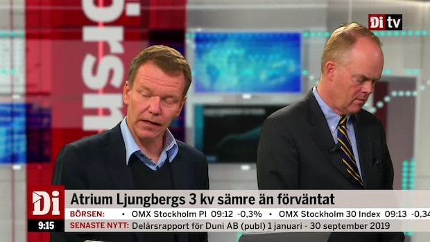 """""""Lägre nettouthyrning som spökar i Castellum och Atrium Ljungberg"""""""