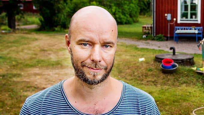 Sven Olov Karlsson är författare och medarbetare på Expressens kultursida. Foto: JENS L'ESTRADE