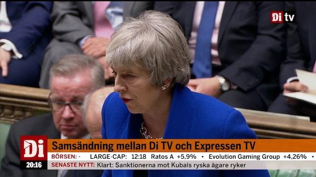 Theresa May klarade omröstningen – sitter kvar