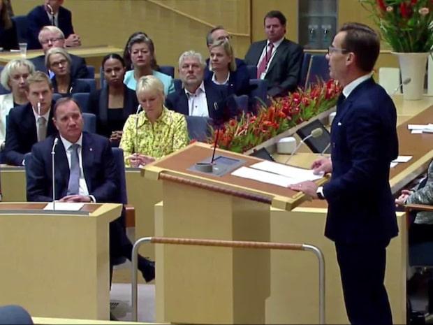 Stefan Löfven bortröstad - vill ändå regera