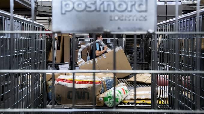 Postnord kan få ta emot 100 000-tals kinesiska paket på Arlanda – på ett dygn. Foto: / TT NYHETSBYRÅN