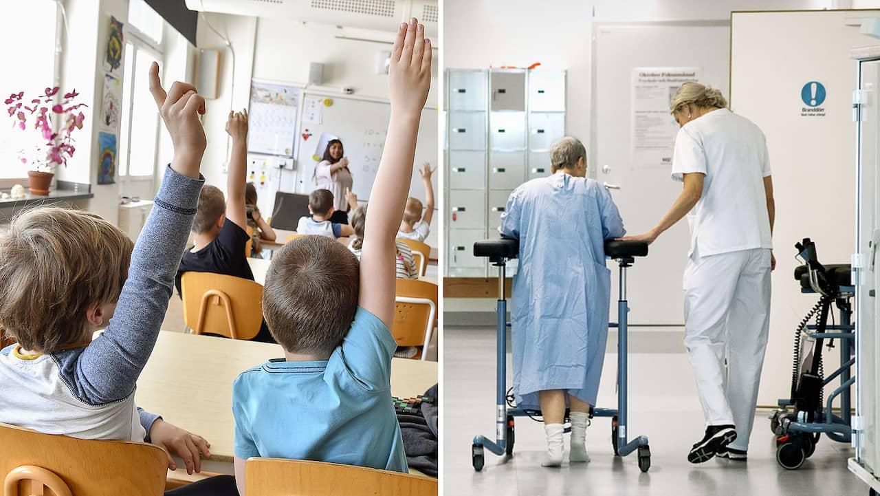 Sjukvard och skola viktigast i valet