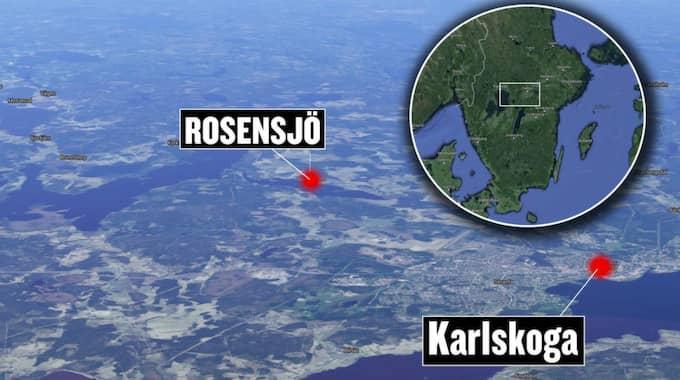 Inbrottet skedde i samhället Rosensjö.