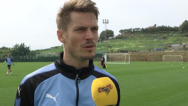 """Rosenbergs löfte inför matchen: """"Mot Molde tar vi nästa steg"""""""
