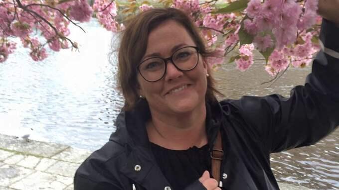 Cathrine Björklund vaknade när tjuvarna var inne i hennes hem. Foto: Privat
