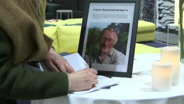 """Svenskarna om Kamprad: """"Han kommer finnas med oss för alltid"""""""