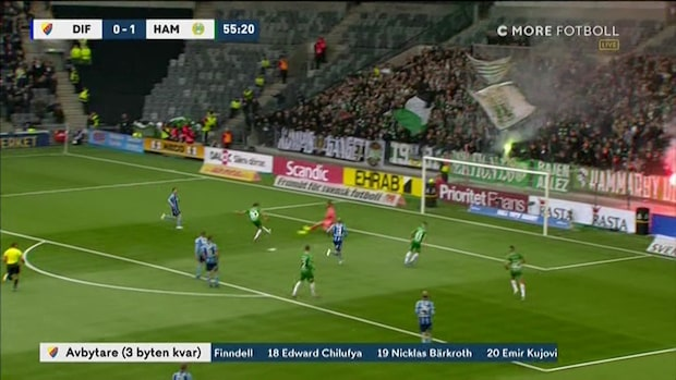 """Hammarbys drömminuter: """"Titta på precisionen"""""""