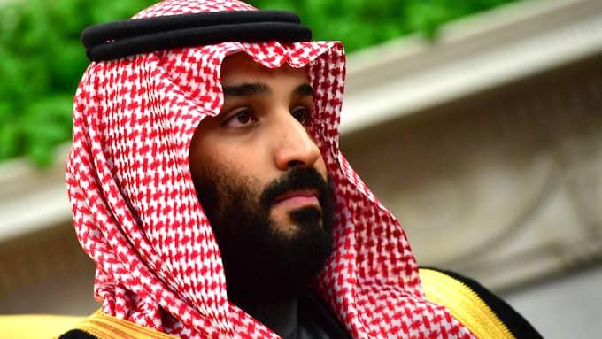 """Saudiarabiens kronprins Mohammed bin Salman har skrutit om att han har Jared Kushner """"lindad runt sin lillfinger"""". Foto: KEVIN DIETSCH / CNP / POLARIS/IBL POLARIS"""