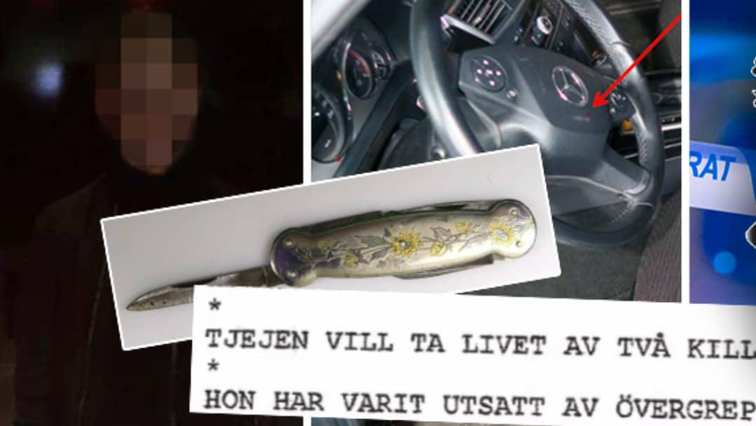 Flicka försökte mörda påstådd våldtäktsman