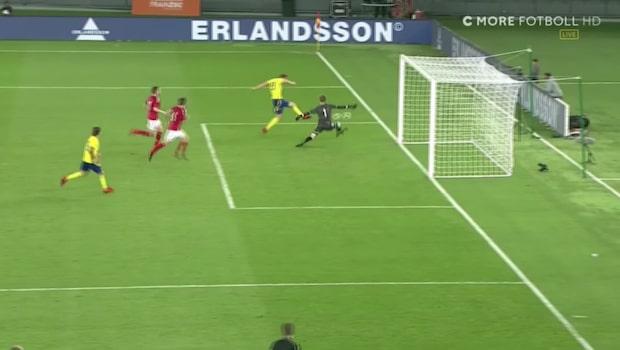 Här avgör Sverige i sista sekunden – efter drömskott av Jordan Larsson