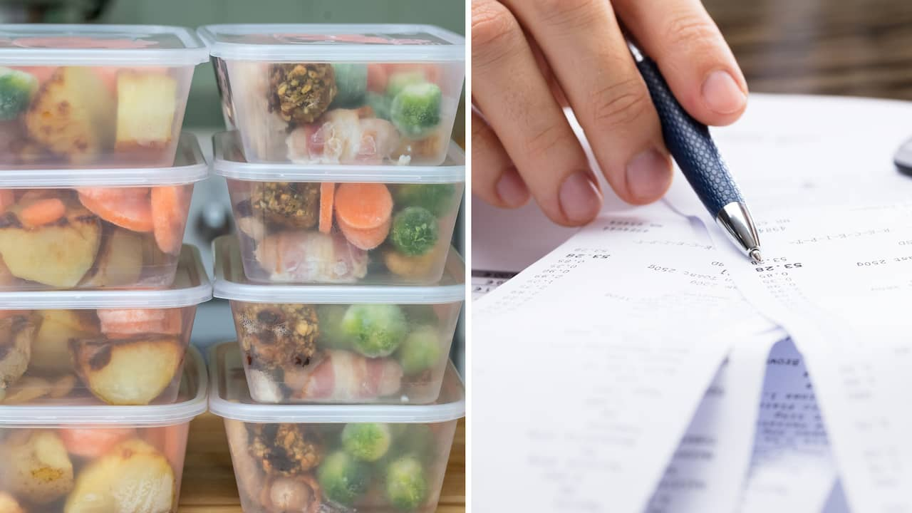 äta så billigt som möjligt