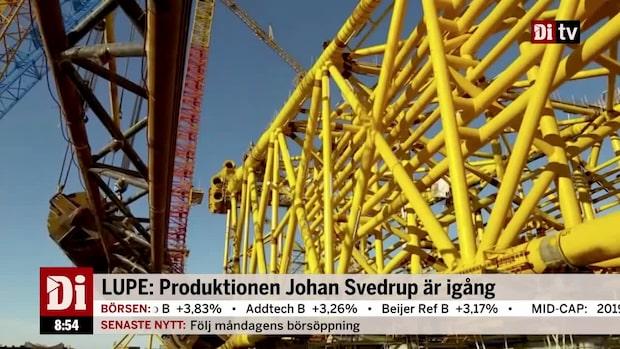 LUPE äger 20 procent av Johan Svendrup-fältet