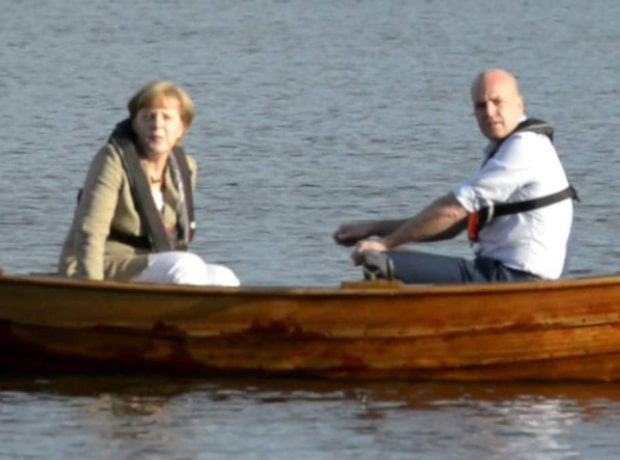 EU-topparna ror eka i Harpsund