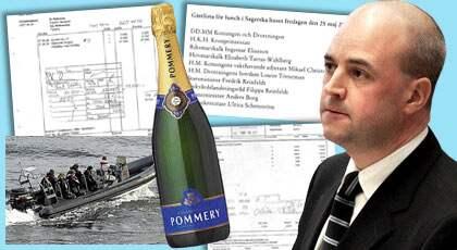 Turer med snabba båtar och middagar i skärgården stod på schemat när förre försvarsministern Mikael Odenberg bjöd in sina nordiska kollegor. Priset: 70 938 kronor.