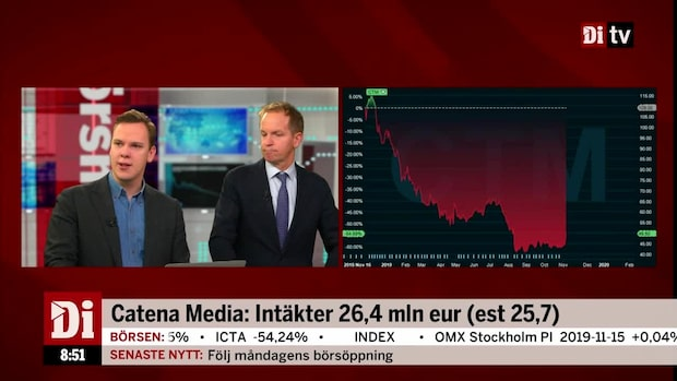 Di:s analytiker om rapporterande Catena Media