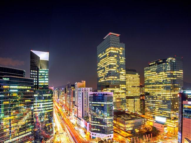 Typisk för Seoul är att mycket i staden är relativt nytt - även de gamla byggnaderna är förhållandevis nya.