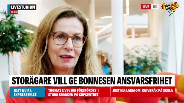Storägarna beredda att ge Bonnesen ansvarsfrihet