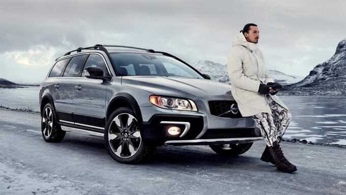 Zlatan Ibrahimovic i den första reklamfilmen han gjorde för Volvo. Foto: Volvo Cars