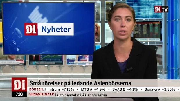 Di Morgonkoll: Saab säljer sina aktier i samriskbolag för 1,1 miljarder kronor