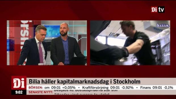 Bilia håller kapitalmarknadsdag i Stockholm