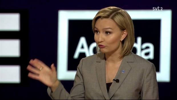 Hör Ebba Busch Thors anklagelser mot S och MP
