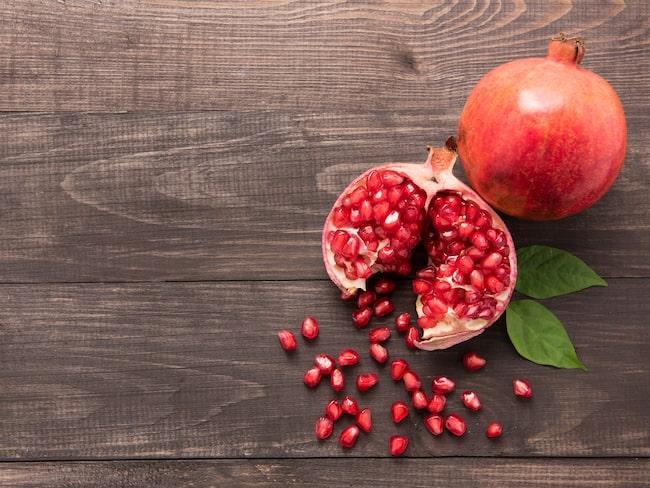 vad är granatäpple bra för