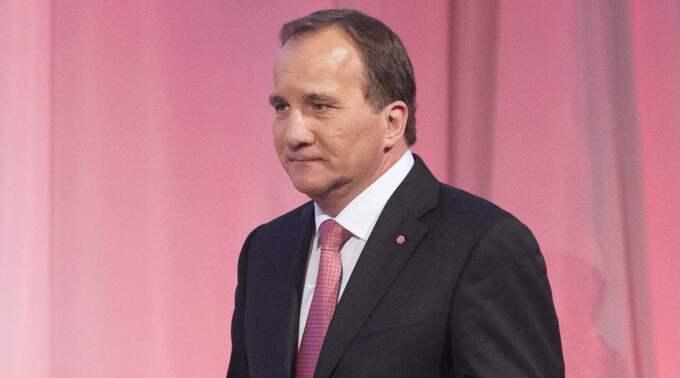 25,9 % Stefan Löfvens och Socialdemokraternas väljarstöd i den senaste opinionsmätningen. Foto: Sven Lindwall