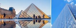 Konstverket vid Louvren förstördes på några timmar