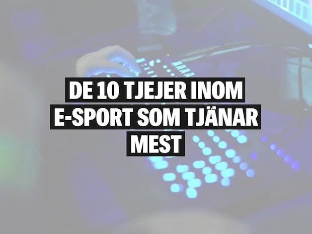 De 10 Tjejer Inom E-sport Som Tjänar Mest