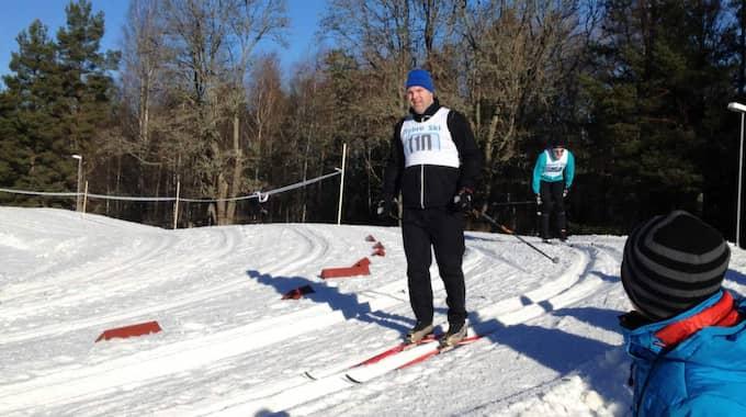 Stefan satsar på att åka Vasaloppet igen 2017. Foto: Privat
