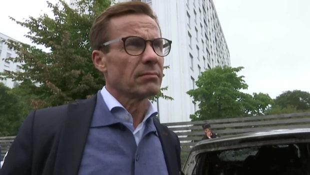 """Ulf Kristersson efter bilbränderna: """"Föräldrarna måste ta ansvar"""""""