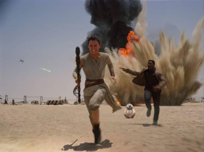 """Star wars - the force awakens"". Foto: Film Frame"