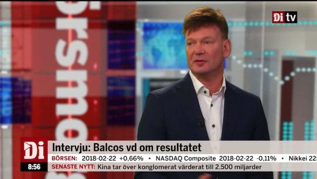 Balco rapporterar organisk tillväxt om 19 procent