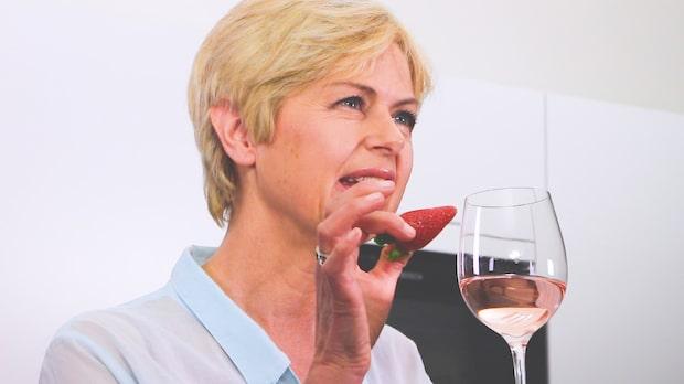 Rosévin som drink